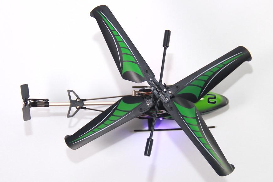 "Jamara Gyro V2 / 038150 - von oben / Rotorblätter mit ""Winglets"""