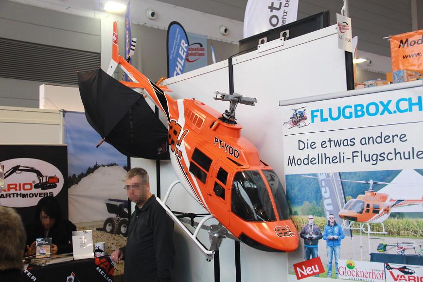 Faszination Modellbau 2016 Friedrichshafen: Scale Helikopter von Vario