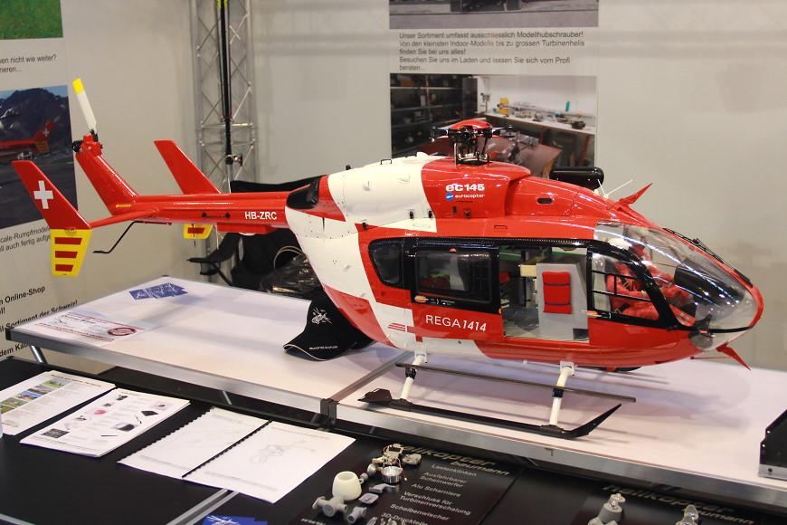 Faszination Modellbau 2016 Friedrichshafen: Scale Helikopter von Baumann