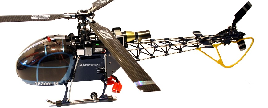 Walkera 4F200 LM Scale Helikopter