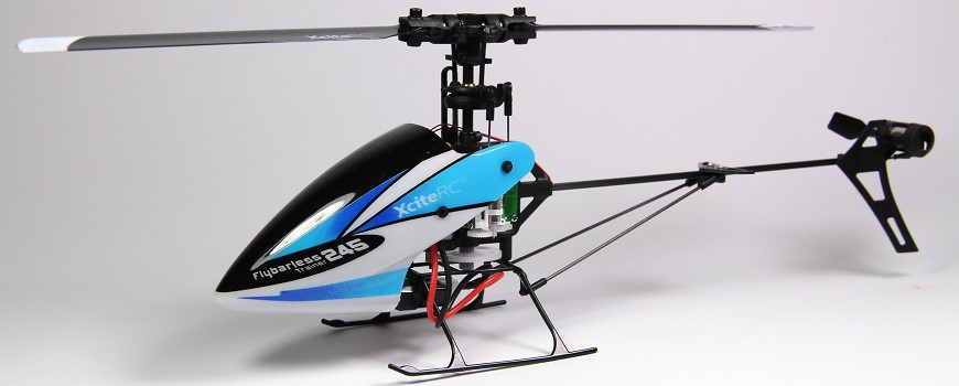 XciteRC Flybarless 245 Trainer RC Helikopter